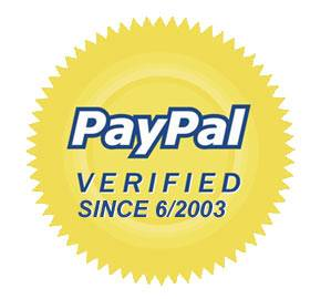 PayPal Verified Since June of 2003