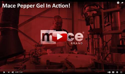 Mace Pepper Gel In Action