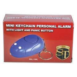 Keychain Alarm with Flashlight